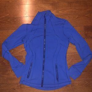 LULU LEMON Blue Active Jacket